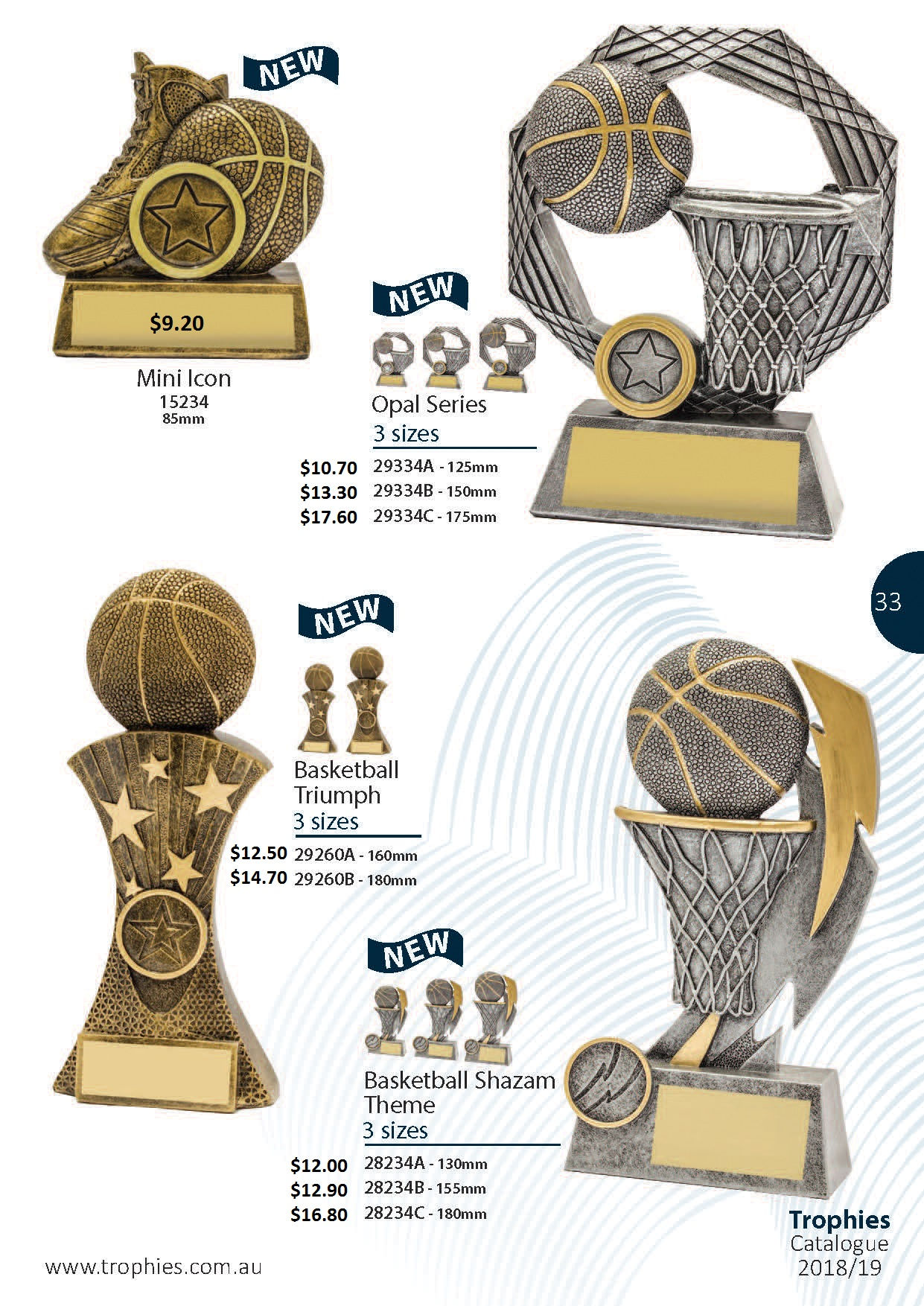 Basketball Trophies – Specialty Trophies